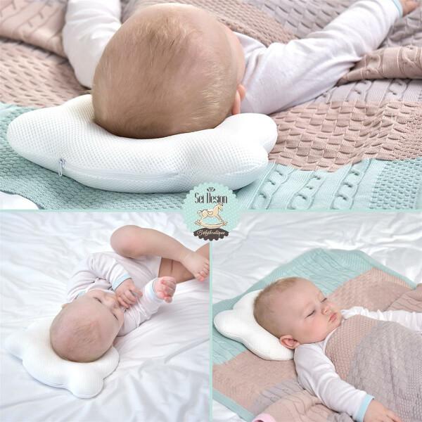 Sei Design Baby Kopfkissen Bärchen 21x25 Mikrofaser 1 8