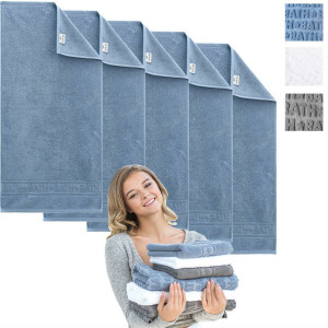 Set 5-Pack Handtuch BATH Collection 50x100 Jeans